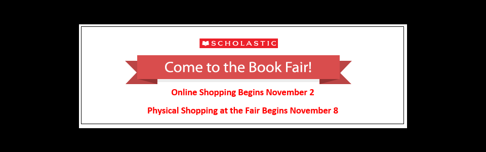 Book Fair Notice, see feature below